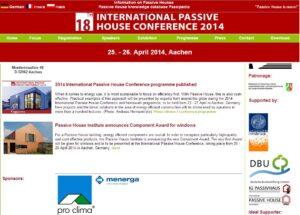 Συνεχής ενημέρωση στο Twitter για το 18ο Διεθνές Συνέδριο Παθητικών Κτιρίων στο Ααχεν.